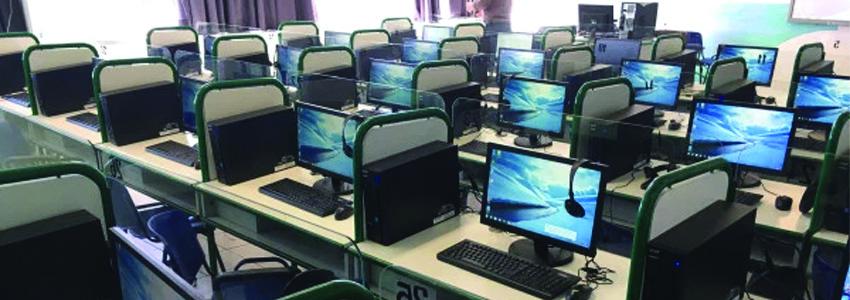 Progettazione e Allestimento di aule per la didattica, aula magna, laboratori (linguistici, informatica, chimica, fisica)teatro.